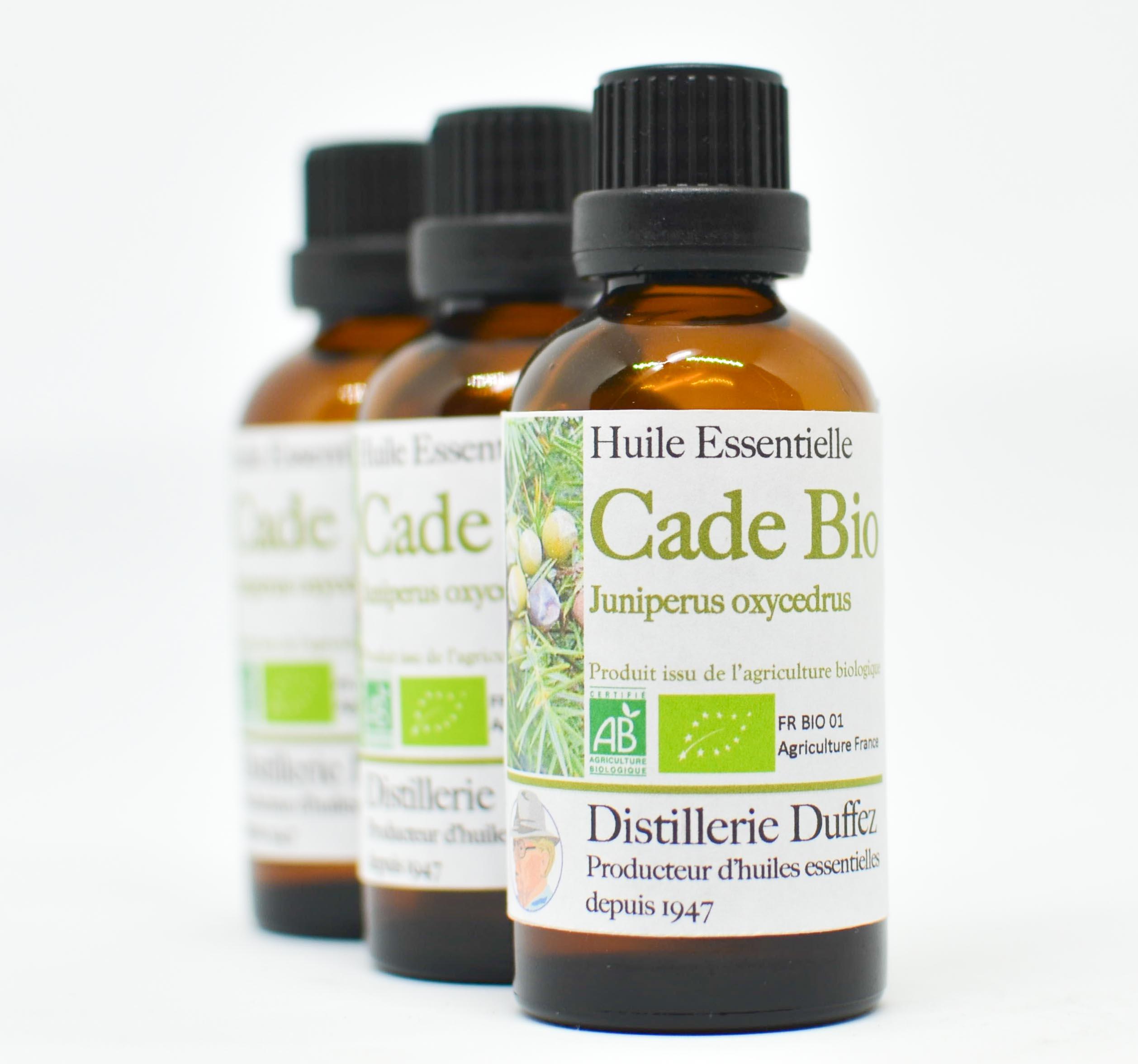 huile essentielle de cade bio distillerie duffez. Black Bedroom Furniture Sets. Home Design Ideas