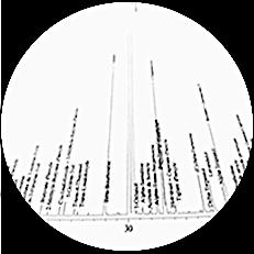 Chromatographie d'huile essentielle de lavande